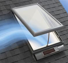 Velux residential for How to clean velux skylights